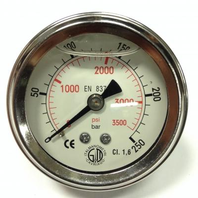 Манометр 0-250 бар
