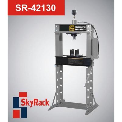 SR-42130 Пресс гаражный пневмогидравлический напольный