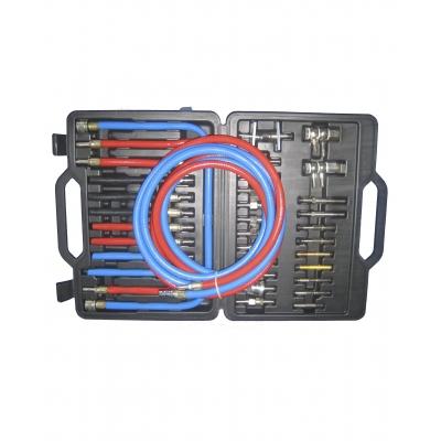 Комплект переходников для чистки форсунок и промывки инжектора без снятия для SR-5066, SR-5076